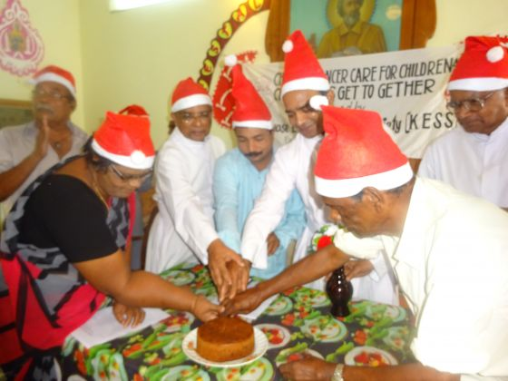Christmas Celebration of cancer patients..JPG